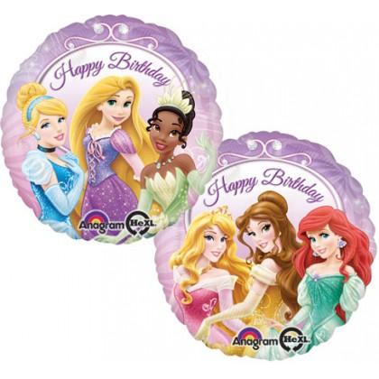 "S60 17"" Princess Happy Birthday Standard HX®"