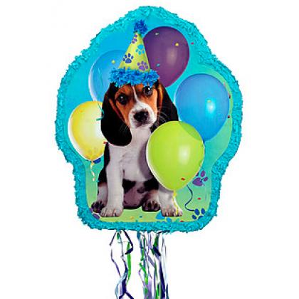 Party Pups Outline Piñata