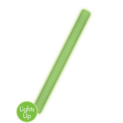 "18"" Foam Light-Up Glow Sticks - Green"