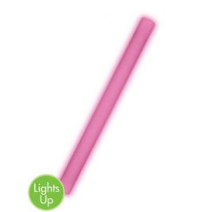 "18"" Foam Light-Up Glow Sticks - Pink"