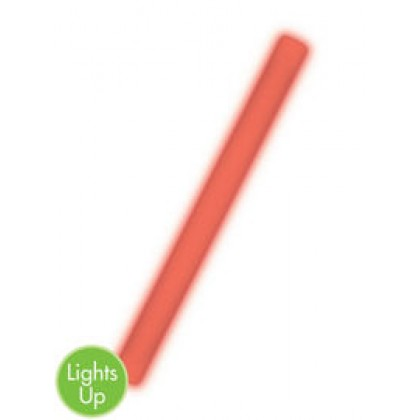 "18"" Foam Light-Up Glow Sticks - Red"