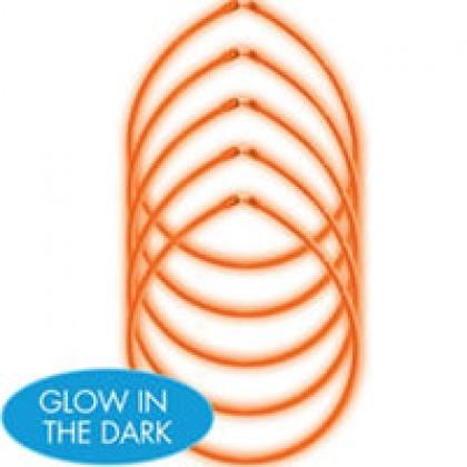 "22"" Glow Sticks Value Pack - Orange"