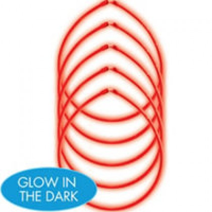 "22"" Glow Sticks Value Pack - Red"