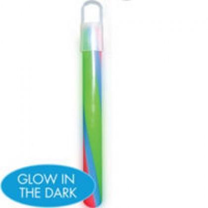 "6"" Glow Necklaces Swizzle"