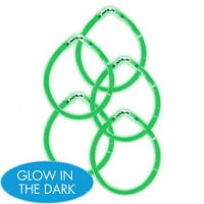 "8"" Glow Sticks Green"