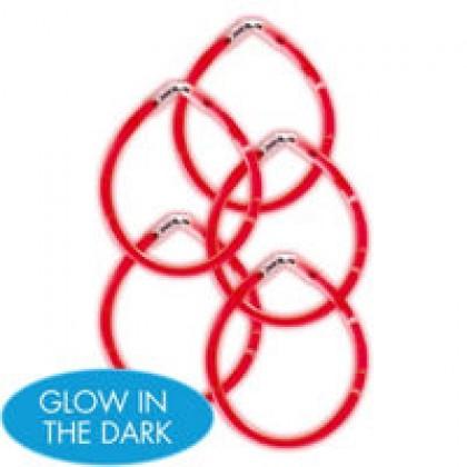 """8"""" Glow Sticks Red"""