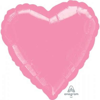 "S15 17"" Metallic Pink Standard Heart HX®"