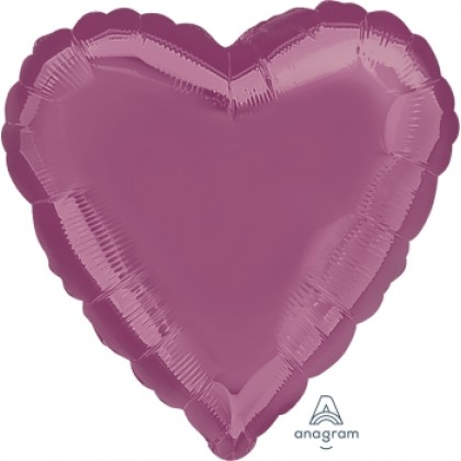 "S15 17"" Metallic Lavender Standard Heart HX®"