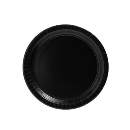 "Jet Black Plates, 9"" - Paper"