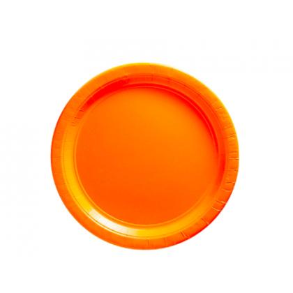 "Orange Peel Plates, 9"" - Paper"