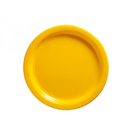 "Yellow Sunshine Plates, 9"" - Paper"