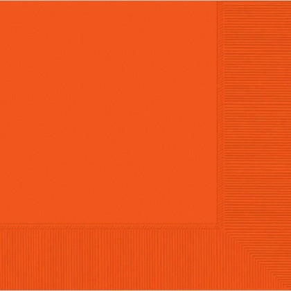 Orange Peel 2-Ply Beverage Napkins - Paper