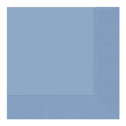 Pastel Blue 2-Ply Beverage Napkins - Paper