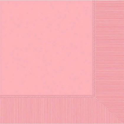 New Pink 2-Ply Beverage Napkins - Paper