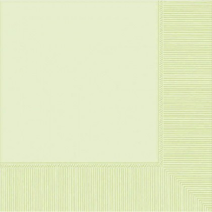 Leaf Green 2-Ply Beverage Napkins - Paper