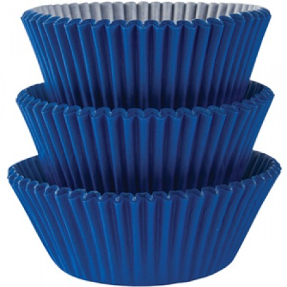 Cupcake Cases Bright Royal Blue