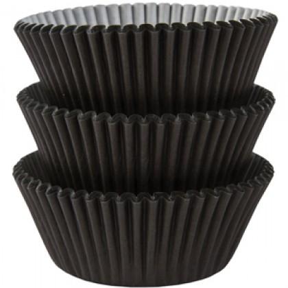 Cupcake Cases Black