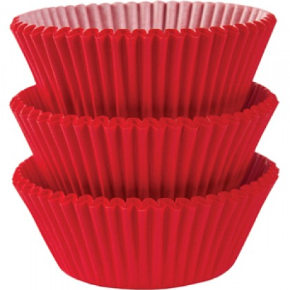 Cupcake Cases Apple Red