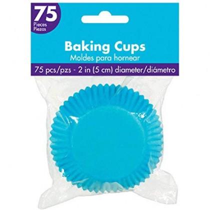 Cupcake Cases Caribbean Blue
