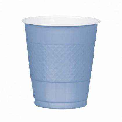 Powder Blue Festive Occasion® Plastic Tableware Cups, 12 oz
