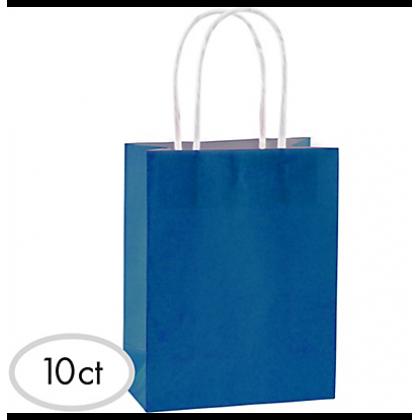 "8 1/2""H x 5 1/4""W x 3 1/4""D Cub Bags Value Pack Bright Royal Blue"