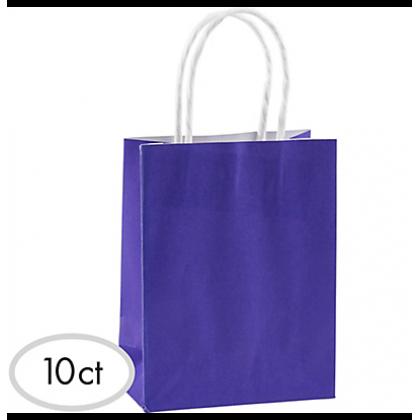 "8 1/2""H x 5 1/4""W x 3 1/4""D Cub Bags Value Pack New Purple"