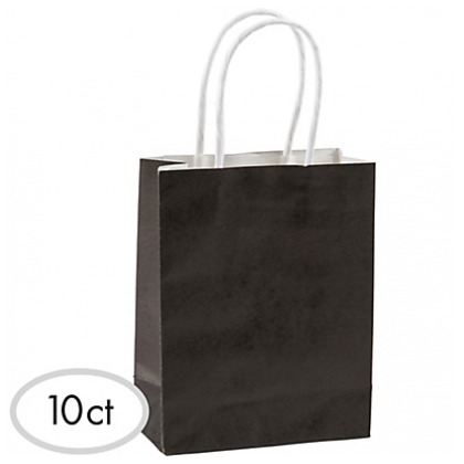 "8 1/2""H x 5 1/4""W x 3 1/4""D Cub Bags Value Pack Black"