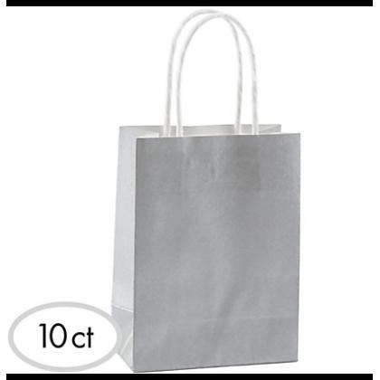"8 1/2""H x 5 1/4""W x 3 1/4""D Cub Bags Value Pack Silver"