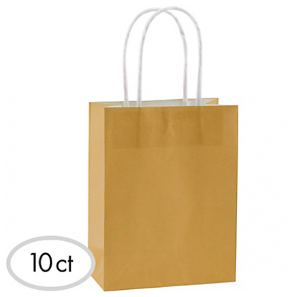 "8 1/2""H x 5 1/4""W x 3 1/4""D Cub Bags Value Pack Gold"