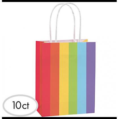 "8 1/2""H x 5 1/4""W x 3 1/4""D Cub Bags Value Pack Rainbow"