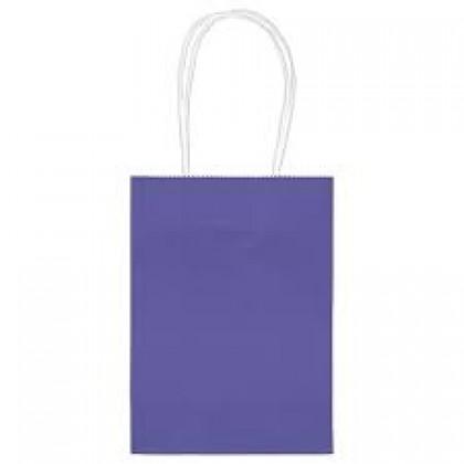 """5""""H x 3 5/16""""W x 2""""D Kraft Paper Bags New Purple"""