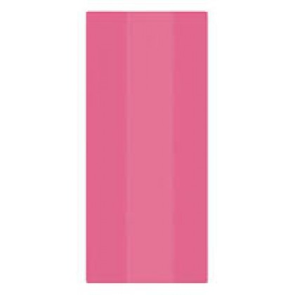 "11 1/2""H x 5""W x 3 1/4""D Cello Party Bags BRIGHT PINK (Large)"