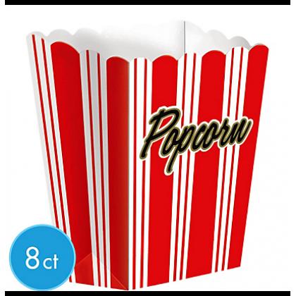 "7 1/4"" x 5 1/4"" Large Popcorn Boxes - Paper"