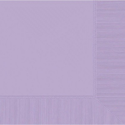 Lavender 2-Ply Luncheon Napkins - Paper