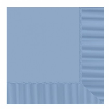 Pastel Blue 2-Ply Luncheon Napkins - Paper