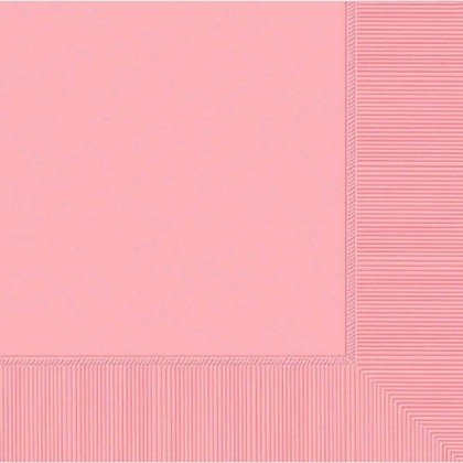 New Pink 2-Ply Luncheon Napkins - Paper