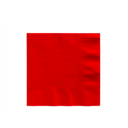 Apple Red 2-Ply Luncheon Napkins - Paper