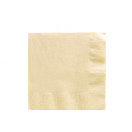 Vanilla Creme 2-Ply Luncheon Napkins - Paper