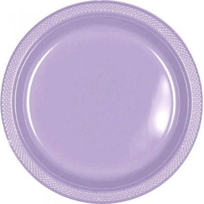 """Lavender Festive Occasion® Plastic Tableware Plate, 7"""""""
