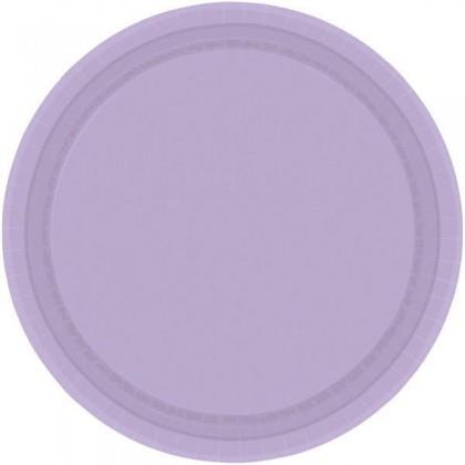 """Lavender Festive Occasion® Plastic Tableware Plate, 9"""""""