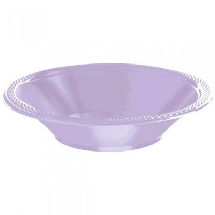 Lavender Festive Occasion® Plastic Tableware Bowls, 12 oz.