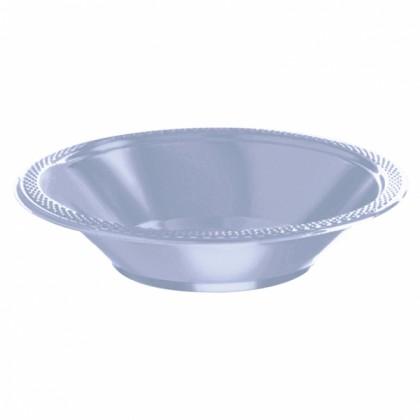 Pastel Blue Festive Occasion® Plastic Tableware Bowls, 12 oz.
