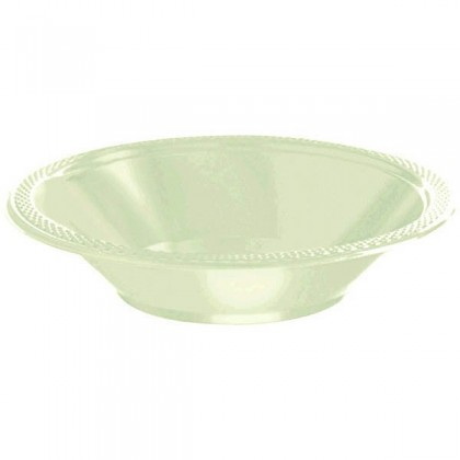 Leaf Green Festive Occasion® Plastic Tableware Bowls, 12 oz.