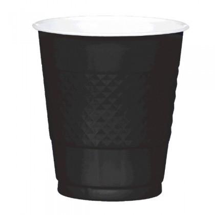 Jet Black Festive Occasion® Plastic Tableware Cups, 12oz