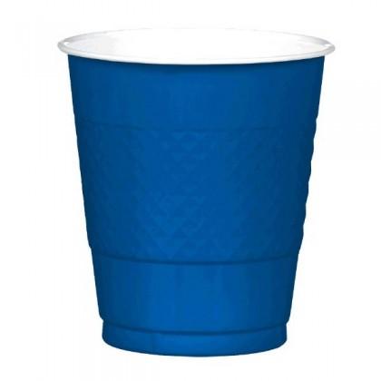 Bright Royal Blue Festive Occasion® Plastic Tableware Cups, 12oz