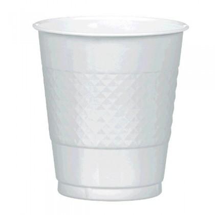 Silver Festive Occasion® Plastic Tableware Cups, 12oz