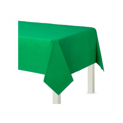 """54"""" x 108"""" Plastic Solid Rectangular TC - Festive Green"""