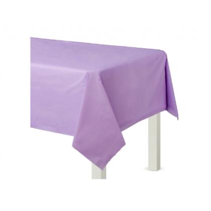 """54"""" x 108"""" Plastic Solid Rectangular TC - Lavender"""