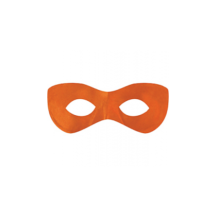 "2 7/8"" x 8 1/4"" Superhero Masks Orange"