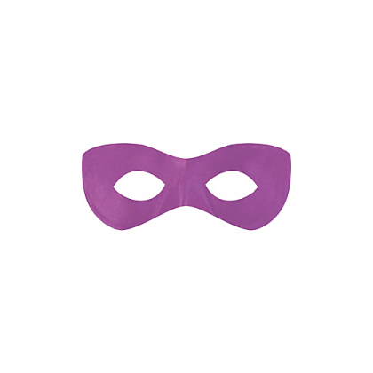 "2 7/8"" x 8 1/4"" Superhero Masks Purple"